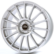 OZ Superturismo LM Matt Race Silver + Black Lettering