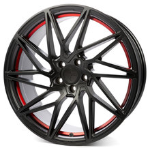 Keskin KT20 Future matt black red inside