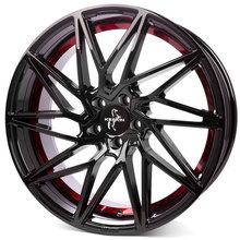 Keskin KT20 Future  black painted red inside