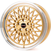 Borbet B gold rim polished