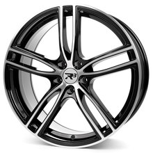 R³ Wheels R3H01.1 black-polished