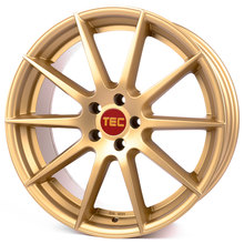 Tec Speedwheels GT-7 gold
