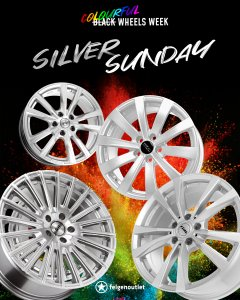 SILVER SUNDAY Colourful Wheels Week