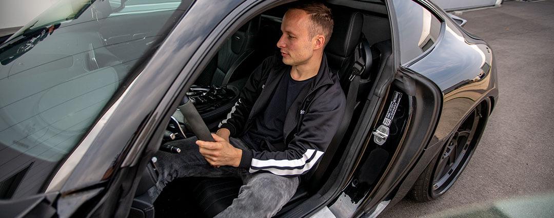 Probefahrt im Mercedes AMG GT S
