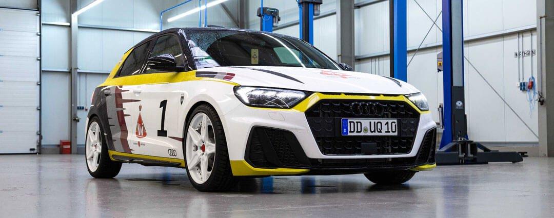 Audi A1 im fertigen HB-Design