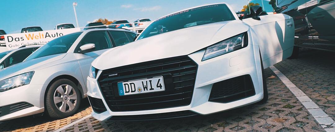 Audi TT bei Autohaus Holm Wirthgen