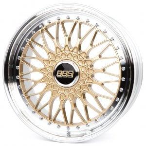 BBS Super RS gold diamantgedreht