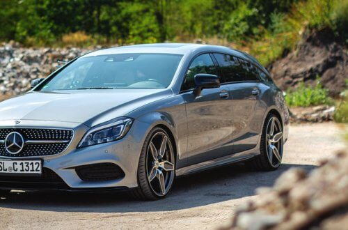 Mercedes CLS Shooting Brake auf R3H08