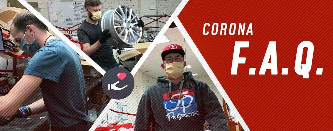 Corona-FAQ bei felgenoutlet