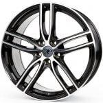 R3 Wheels R3H01 black-polished