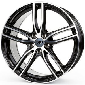 R3 Wheels R3H01 black-polished