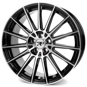 R3 Wheels R3H07 black-polished