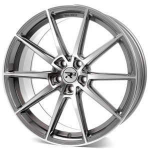 R3Wheels R3H03 anthracite polished