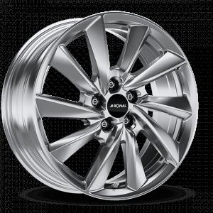 Ronal R70-blue platinum silver