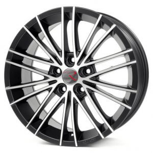 RStyle Wheels SR11 schwarz matt front polished