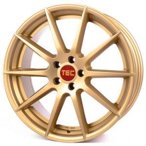 Tec Speedwheels GT7 gold