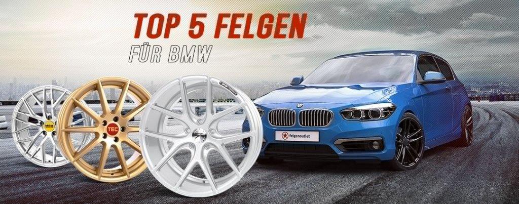 Top 5 Felgen für BMW