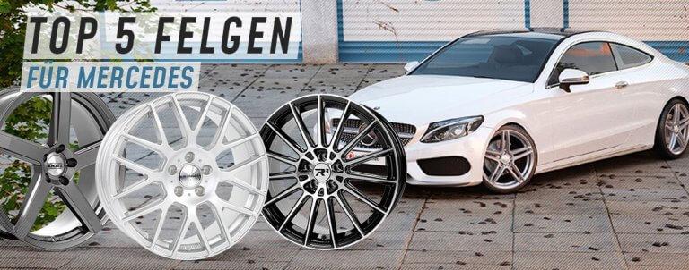 Welche Felgen passen auf Mercedes-Benz?