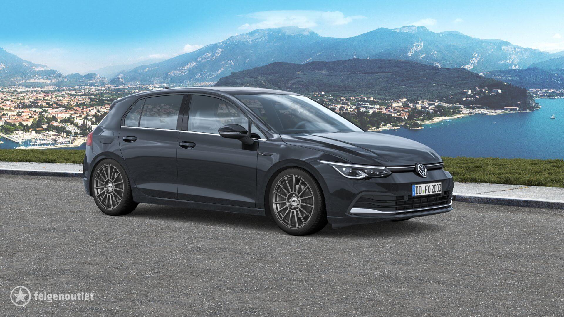 AEZ Steam graphite matt VW Golf VIII Schrägheck