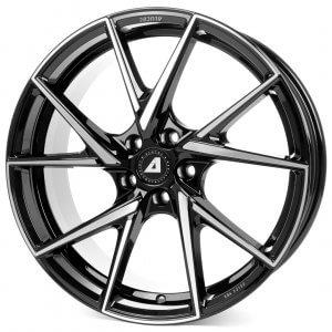 Alutec ADX.01 diamant-schwarz frontpoliert
