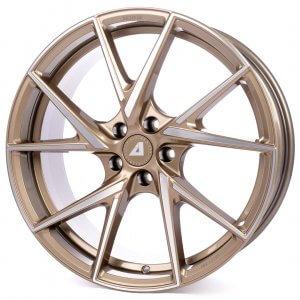 Alutec ADX.01 metallic-bronze frontpoliert