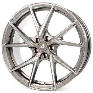 Alutec ADX.01 metallic-platinum frontpoliert