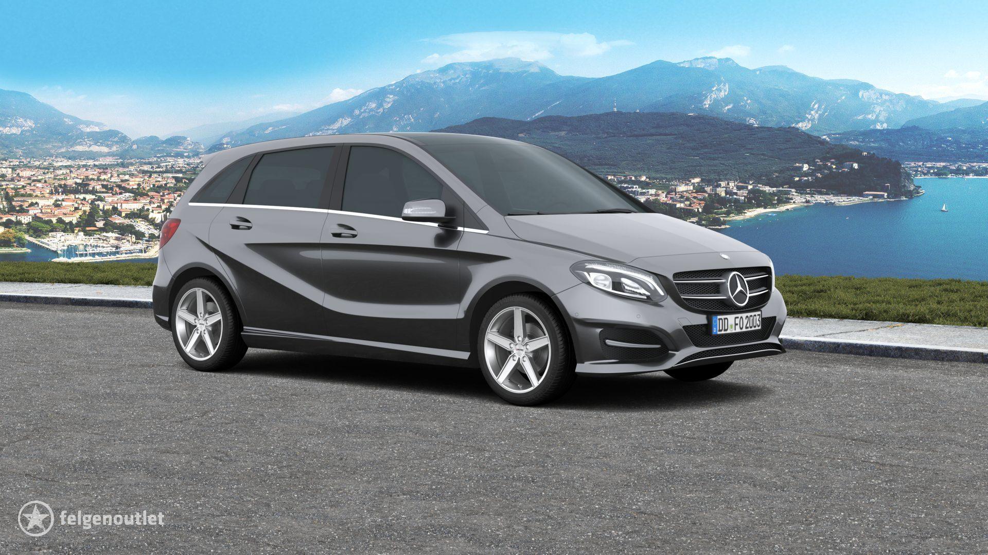 Autec Delano hyper silber Mercedes-Benz B-Klasse Kompaktvan