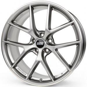 BBS CI-R platinum matt