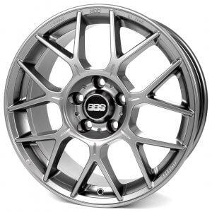 BBS XR platinum silber