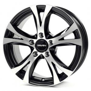 Carmani 9 Compete black polish