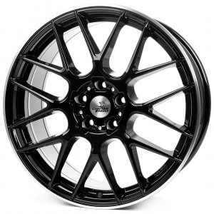 Cheetah Wheels CV3 black horn polished