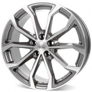 Cheetah Wheels CV4 anthrazit poliert
