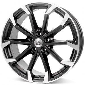 Cheetah Wheels CV4 black matt polished