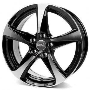 DBV 5SP 001 schwarz glänzend front poliert