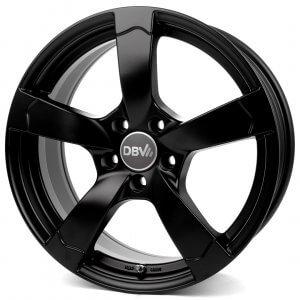 DBV Torino II schwarz matt lackiert