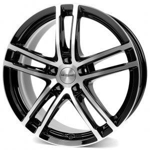 Dezent TZ black-polished front