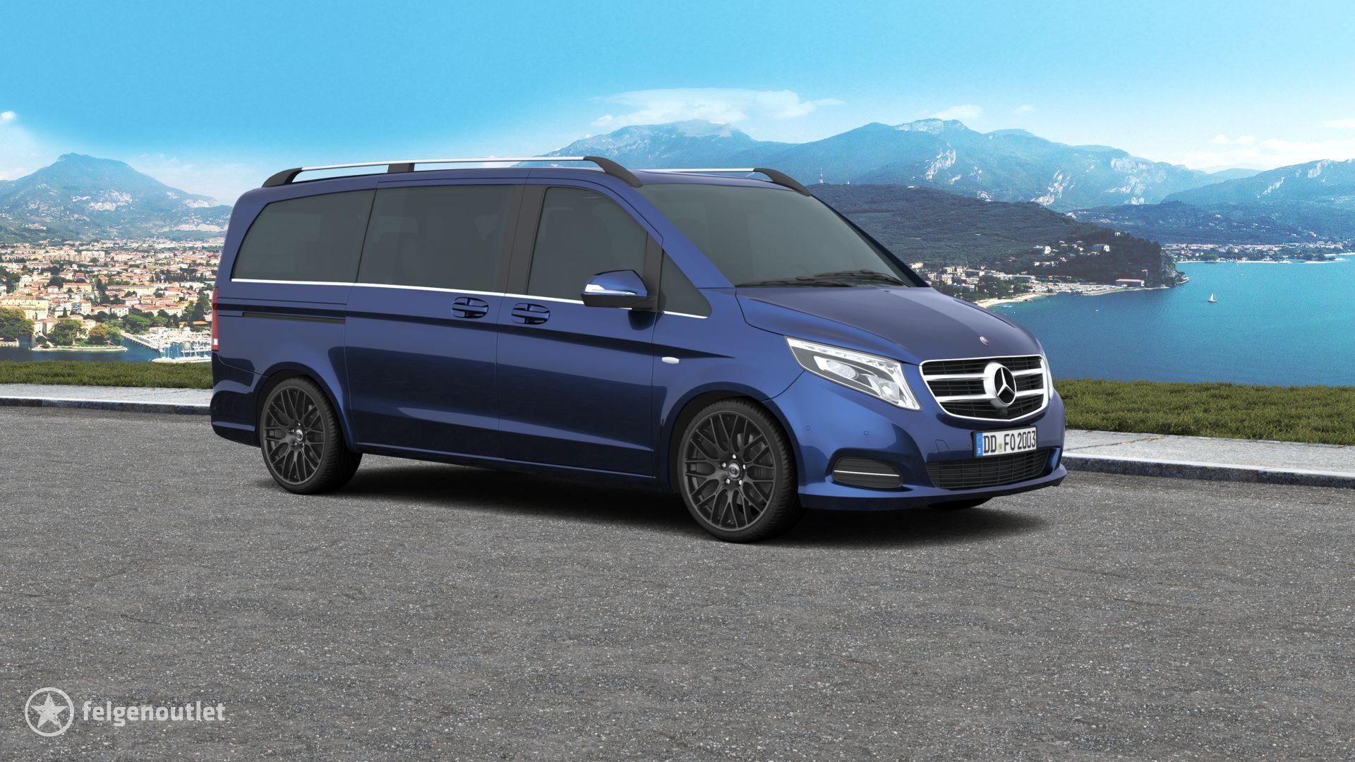 Diewe Impatto NeroS Mercedes Benz V-Klasse Großraumlimousine