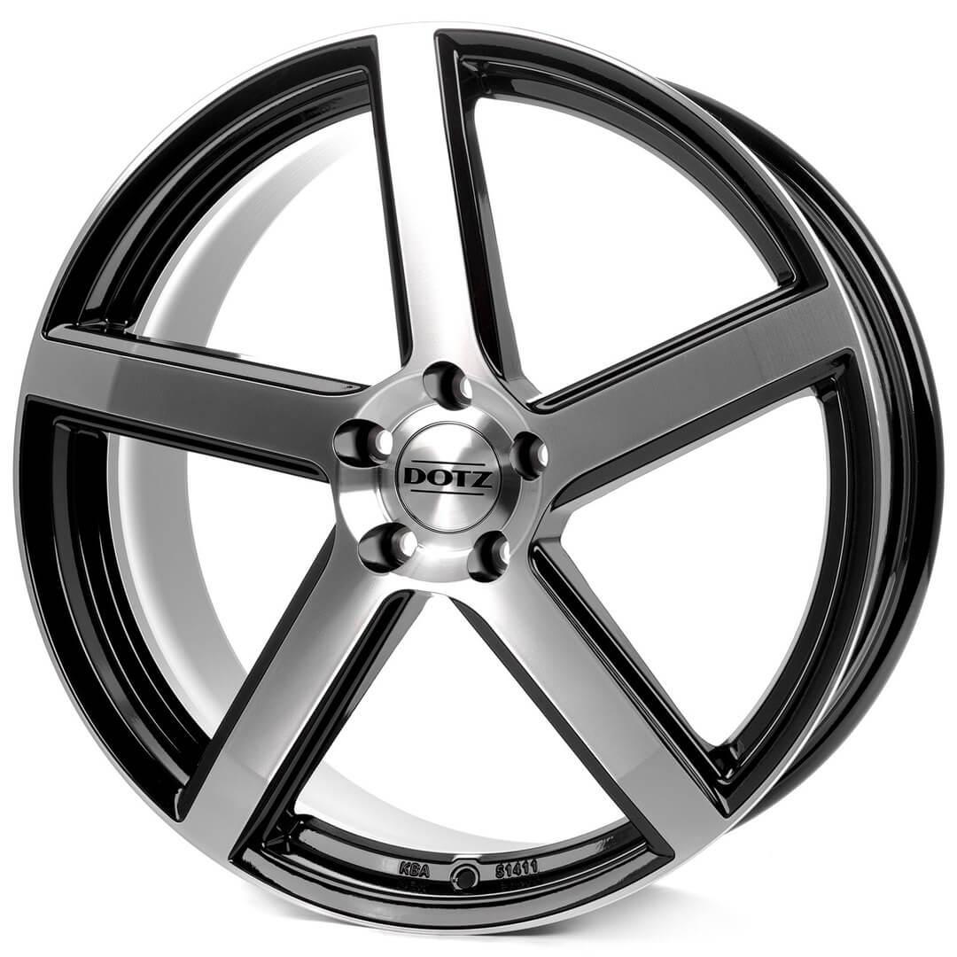 Dotz CP5 black-polished front