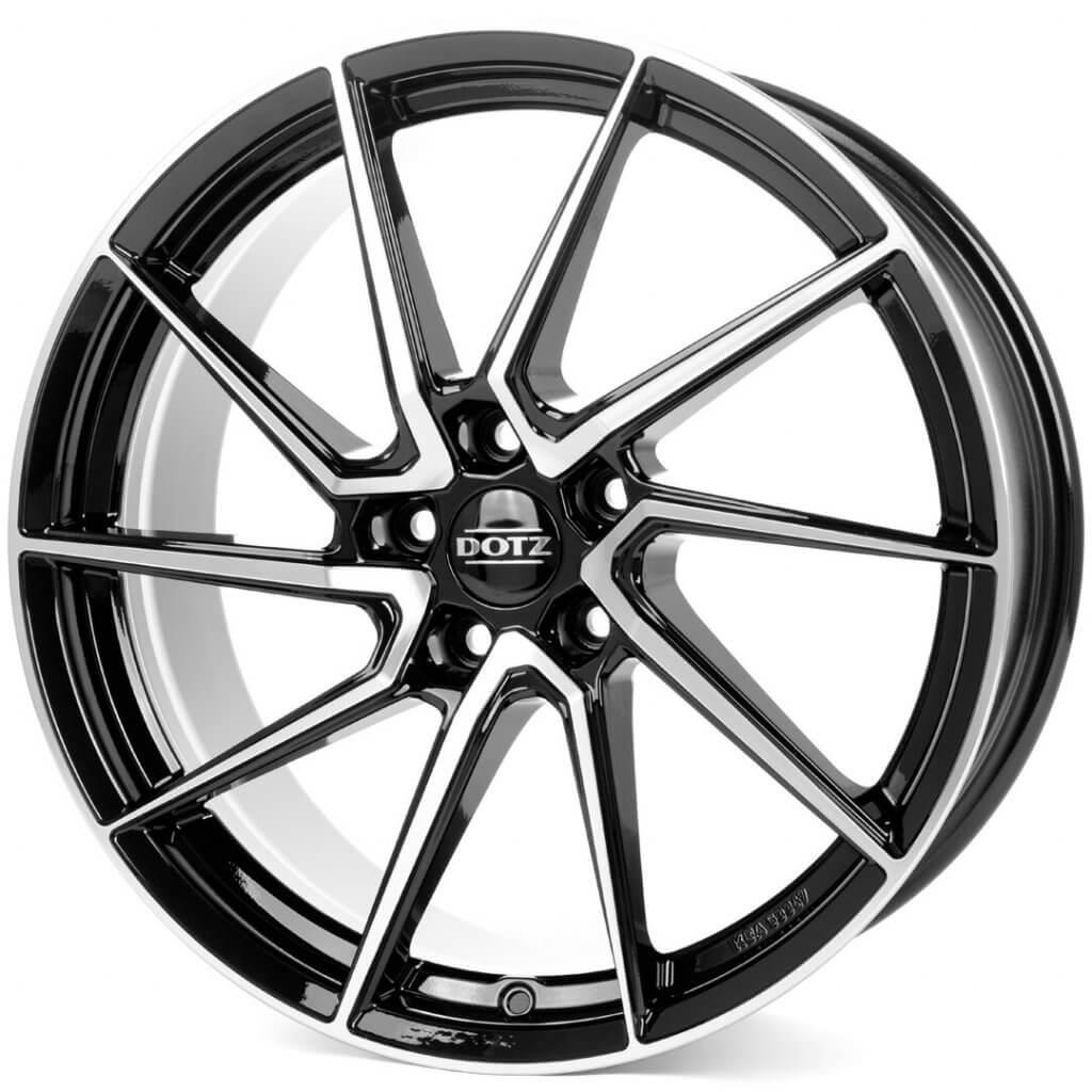 Dotz Spa black-polished front