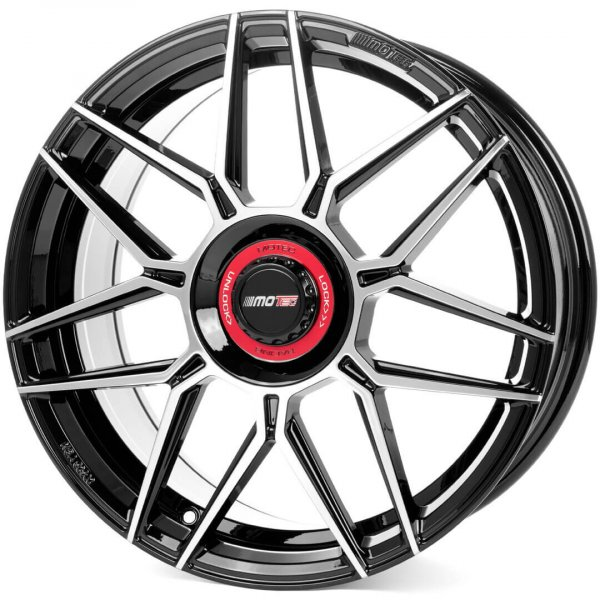 Motec MCT14 GT.one schwarz poliert
