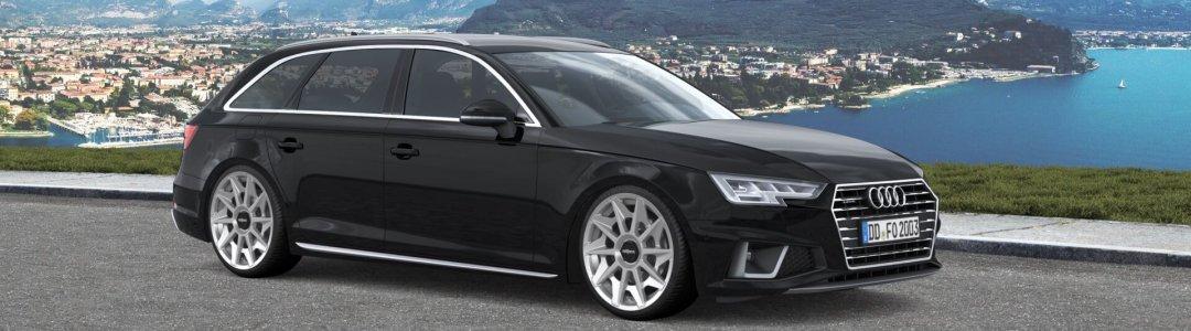 Rotiform CVT silber Audi A4 Avant