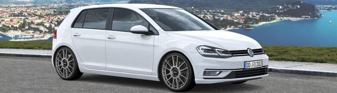 Rotiform OZR anthrazit VW Golf VII Schrägheck