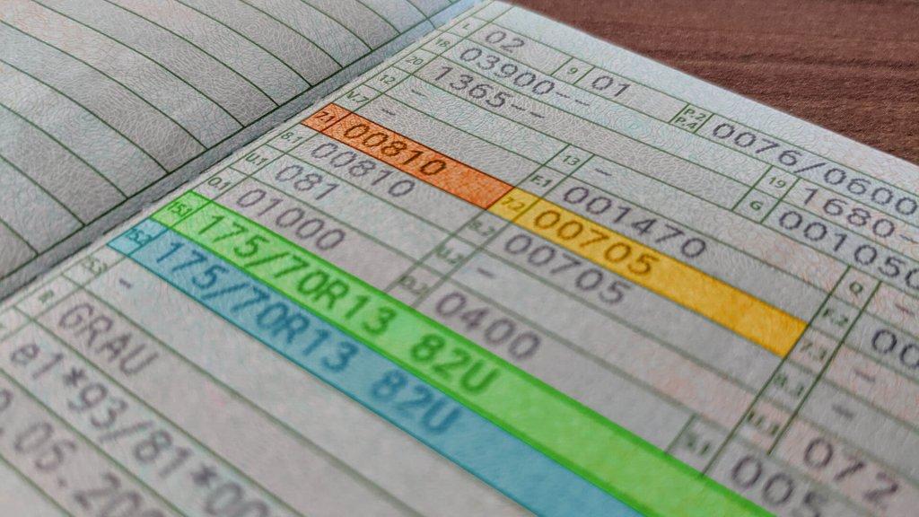 Fahrzeugschein 7.1 7.2 15.1 15.2