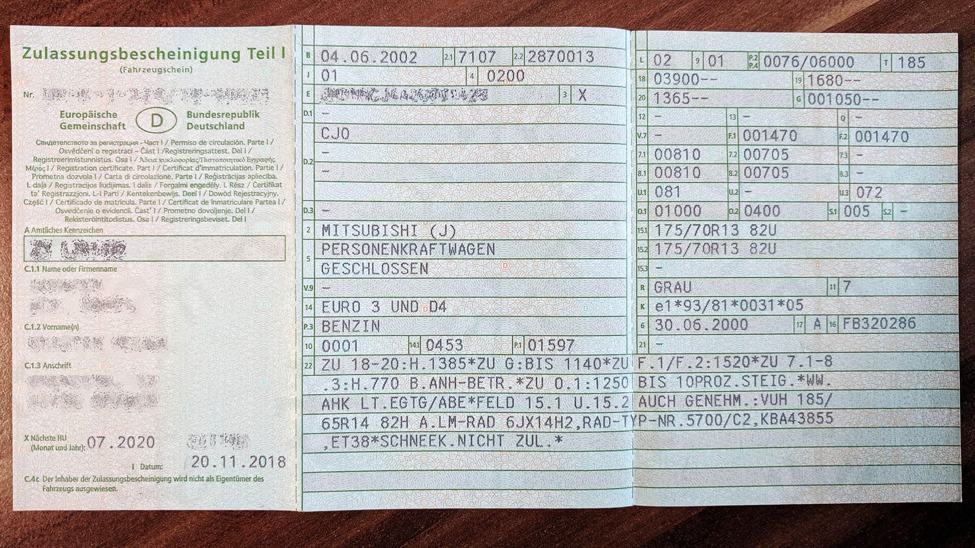 Fahrzeugschein Welche Felgen Passen Felgenoutlet Blog