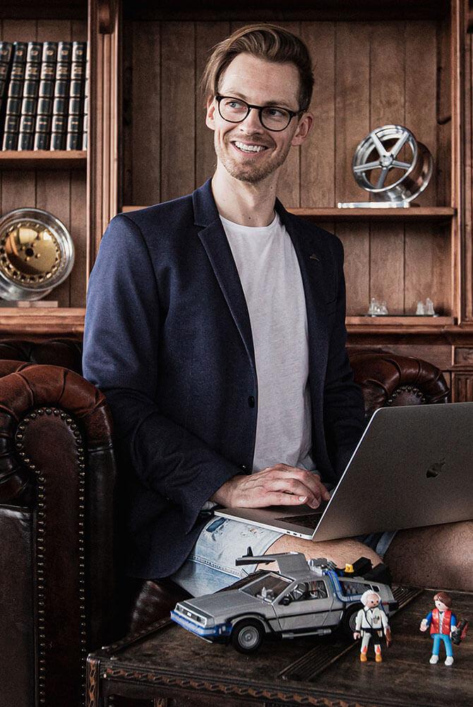 felgenoutlet-Geschäftsführer Uwe Krause