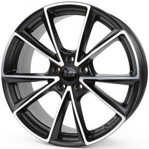 MAM A5 matt black front polish