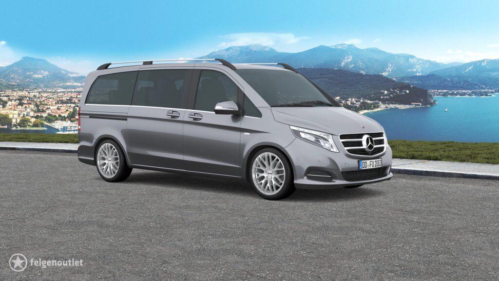 Platin P70 silber Mercedes-Benz V-Klasse Grossraumlimousine