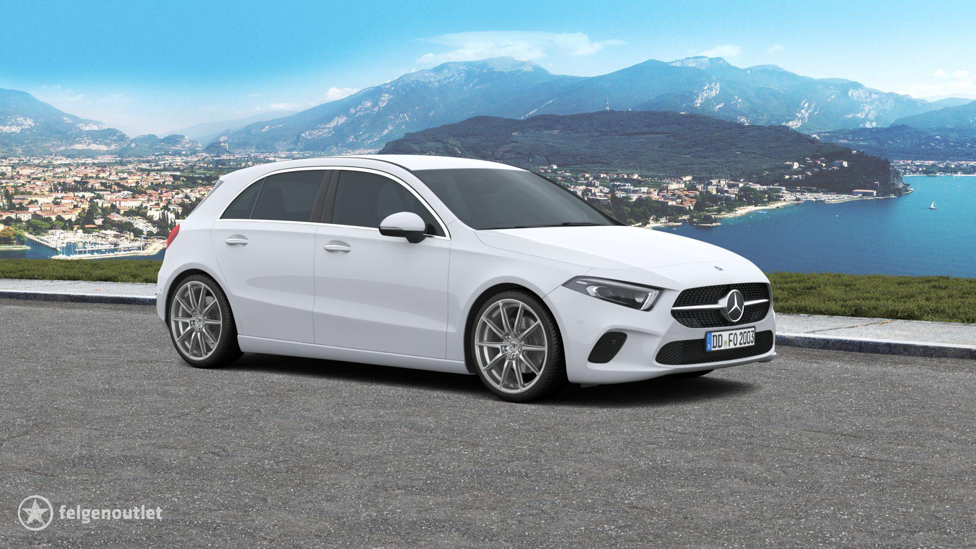 R3 Wheels R3H03 anthracite-matt Mercedes Benz A-Klasse Kompaktklasse