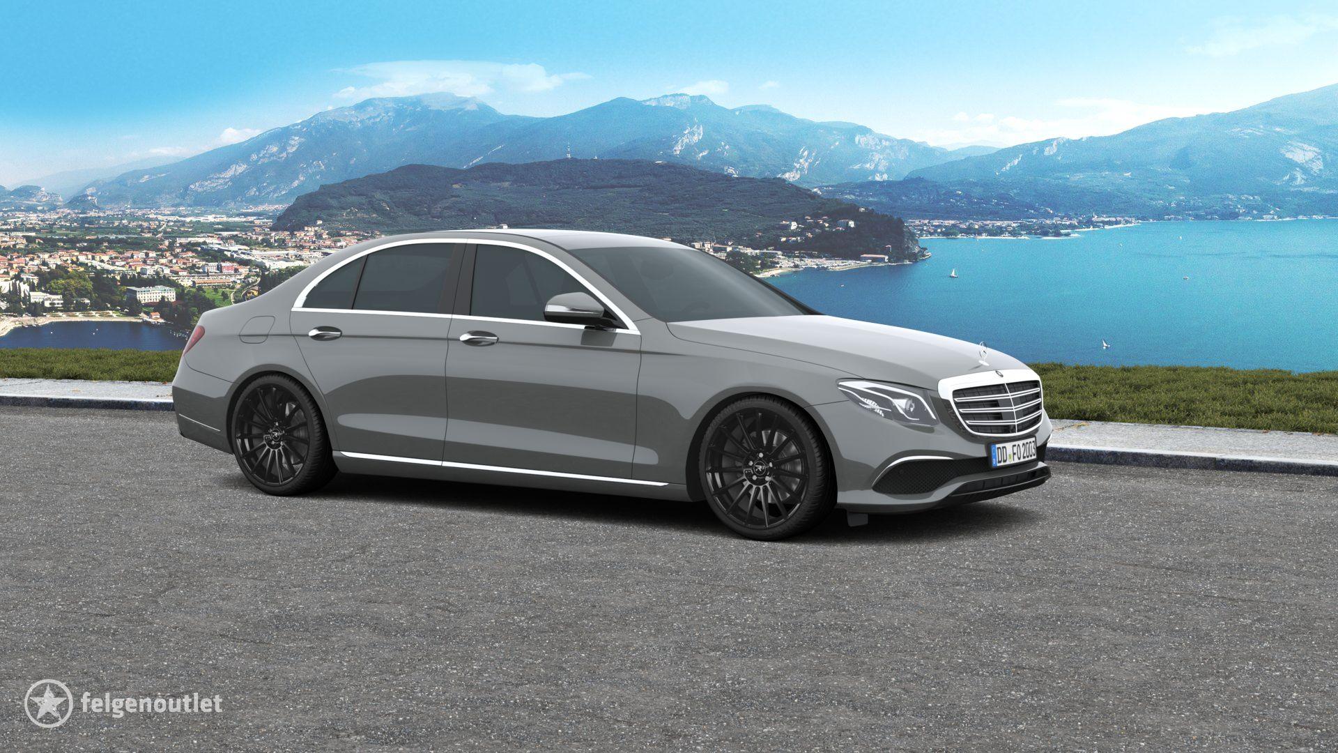 R3 Wheels R3H07 black Mercedes Benz E-Klasse Limousine