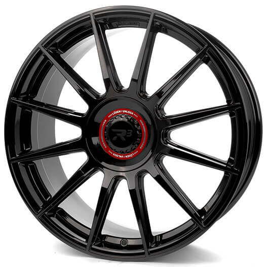 R3 Wheels R3H10 black